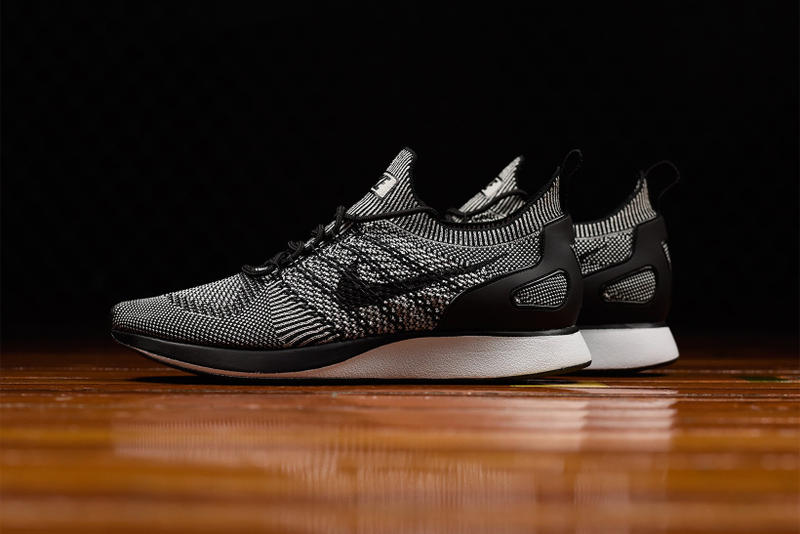 new product 17efe c5d35 A fan-favorite look hits the Air Mariah x Flyknit Racer mash-up. Nike Air  Zoom Mariah Flyknit Oreo