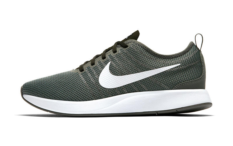 more photos 8a166 e57ef Nike Dualtone Racer Gorge Green Dusty Pink Flyknit Racer