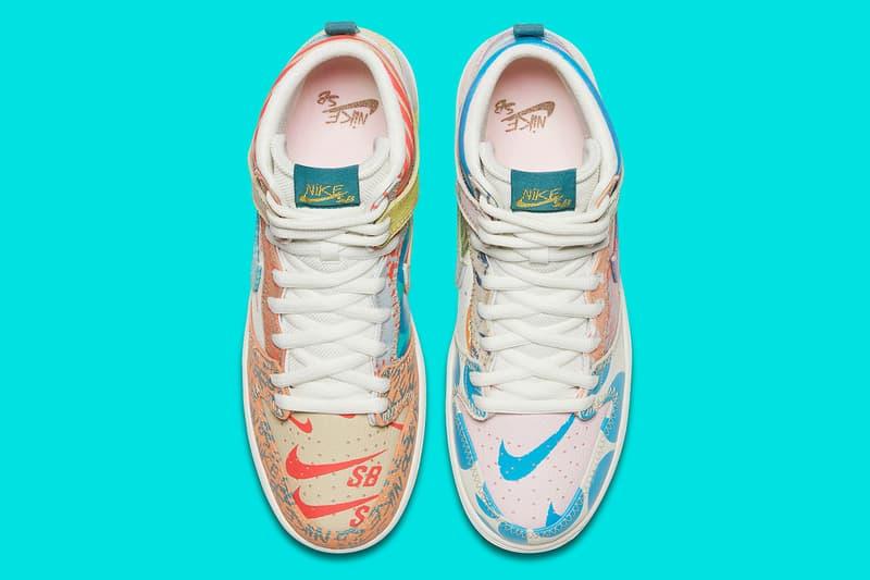 Nike SB Dunk High Premium What The