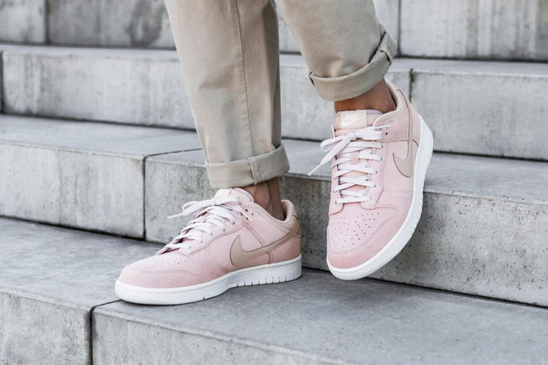 """Nike Dunk Low """"Silt Red"""" Pink Suede Colorway"""