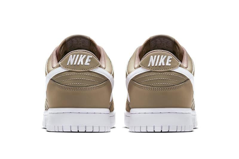 Nike Dunk Low Woven Khaki Light Brown