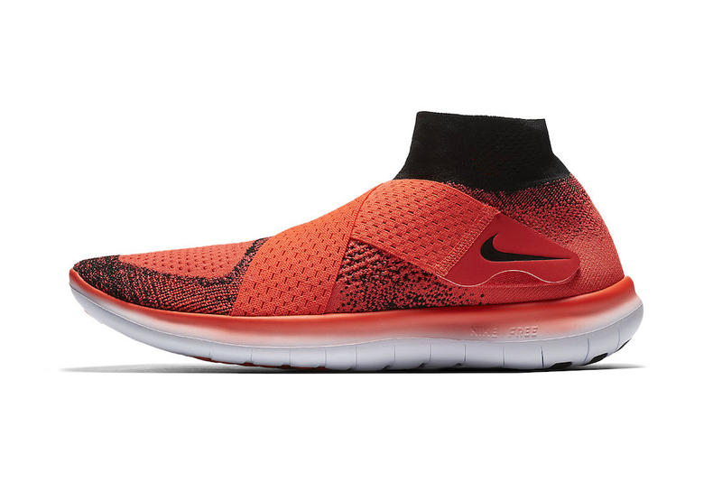 Nike Free RN Motion Flyknit Bright Crimson Sneakers Footwear Running Shoes