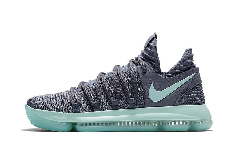 Nike KD 10 Jade Grey