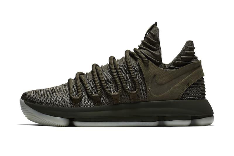Nike KD 10 Olive
