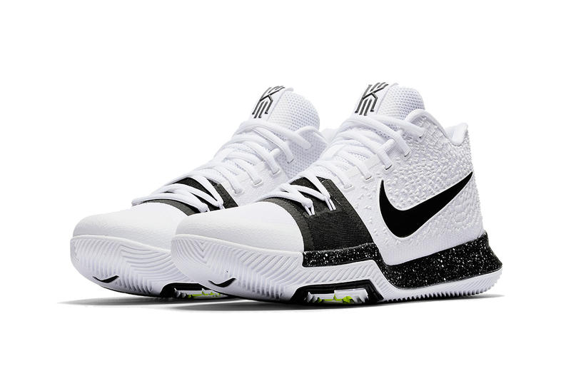 Nike Kyrie 3 Cookies and Cream White Black Volt