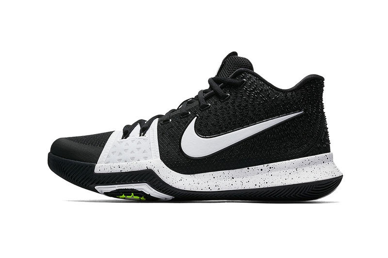 timeless design 64340 906cd Nike Kyrie 3 Tuxedo Black White