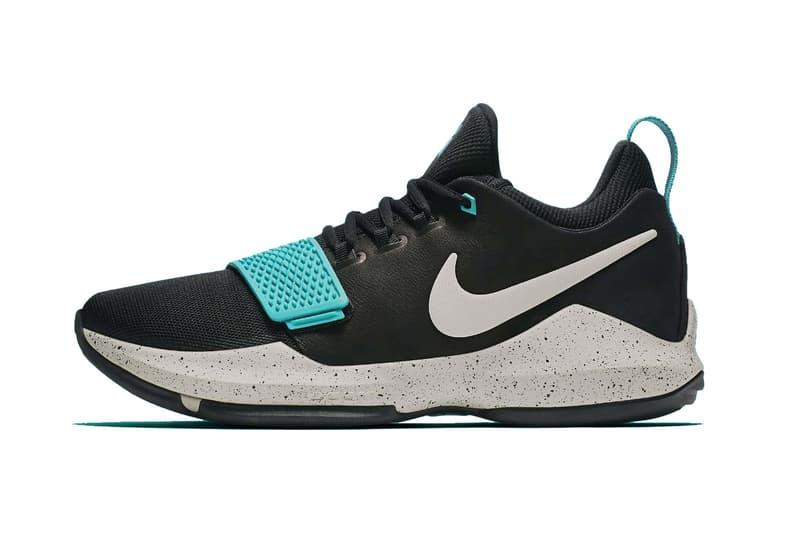 Nike PG1 Light Aqua Black Light Bone
