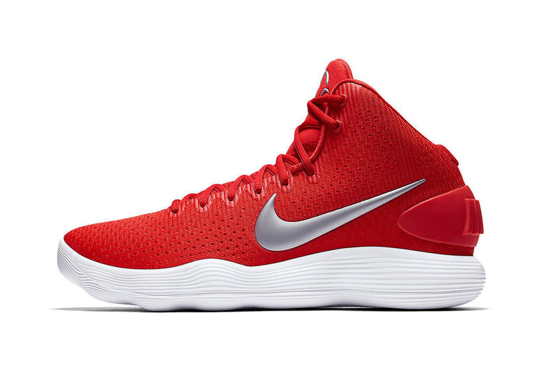 Nike Hyperdunk 2017 black white red white white black React Cushioning Technology draymond green nba basketball sneakers