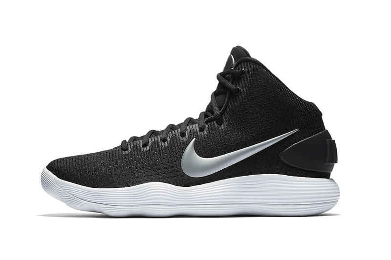 Nike Hyperdunk 2017 black white red white white black React Cushioning Technology draymond green nba basketball sneakers