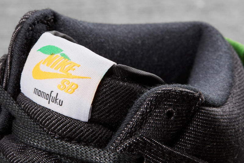 Nike SB Dunk High Momofuku David Chang Lucky Peach