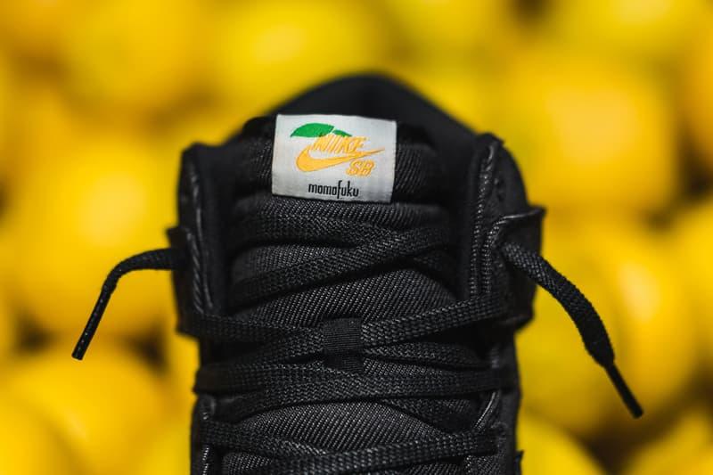 Nike SB Dunk High Momofuku Closer Look