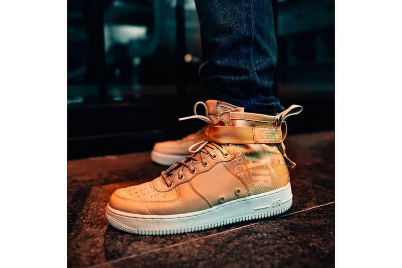 """Nike SF-AF1 Mid """"MUSHROOM"""" Sneaker"""