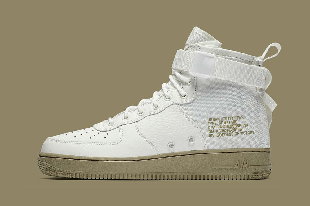 Nike SF Air Force 1 Mid Neutral Olive Colorway