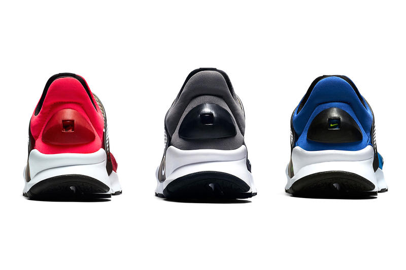 12fd47fd08a5e2 Nike Sock Dart Nylon Colorway Royal Blue Black Red