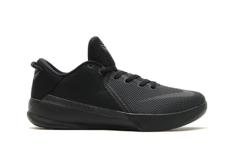 17b65b92041a Nike Zoom Kobe Venomenon 6 Triple Black Kobe Bryant NBA