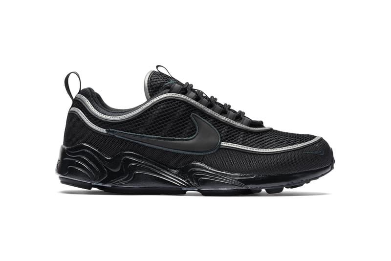 Nike Air Zoom Spiridon Black Armory Navy