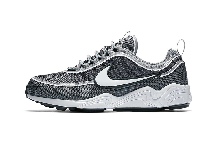 sale retailer 3e291 e20dc Nike s Air Zoom Spiridon Adds a New Greyscale Colorway for Its 20th  Anniversary