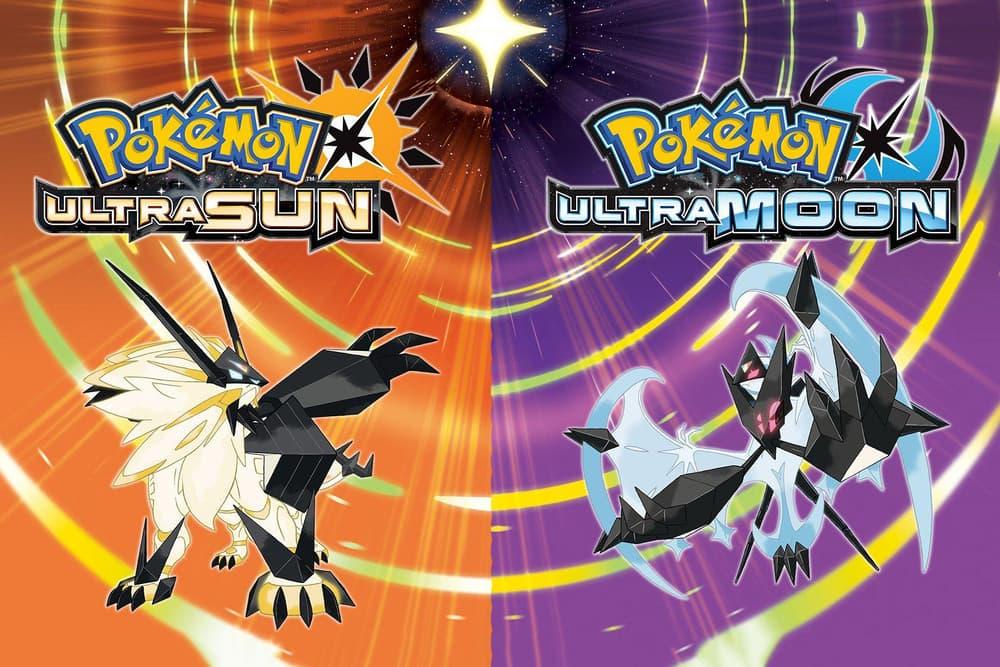 Nintendo 3DS Pokémon Ultra Sun Ultra Moon Release Date