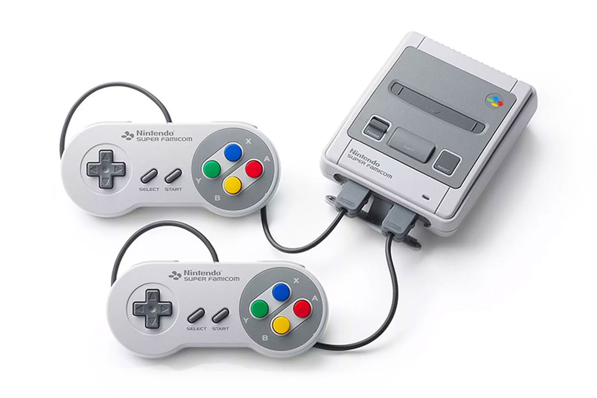 Nintendo Japan Exclusive Mini Super Famicom Hypebeast