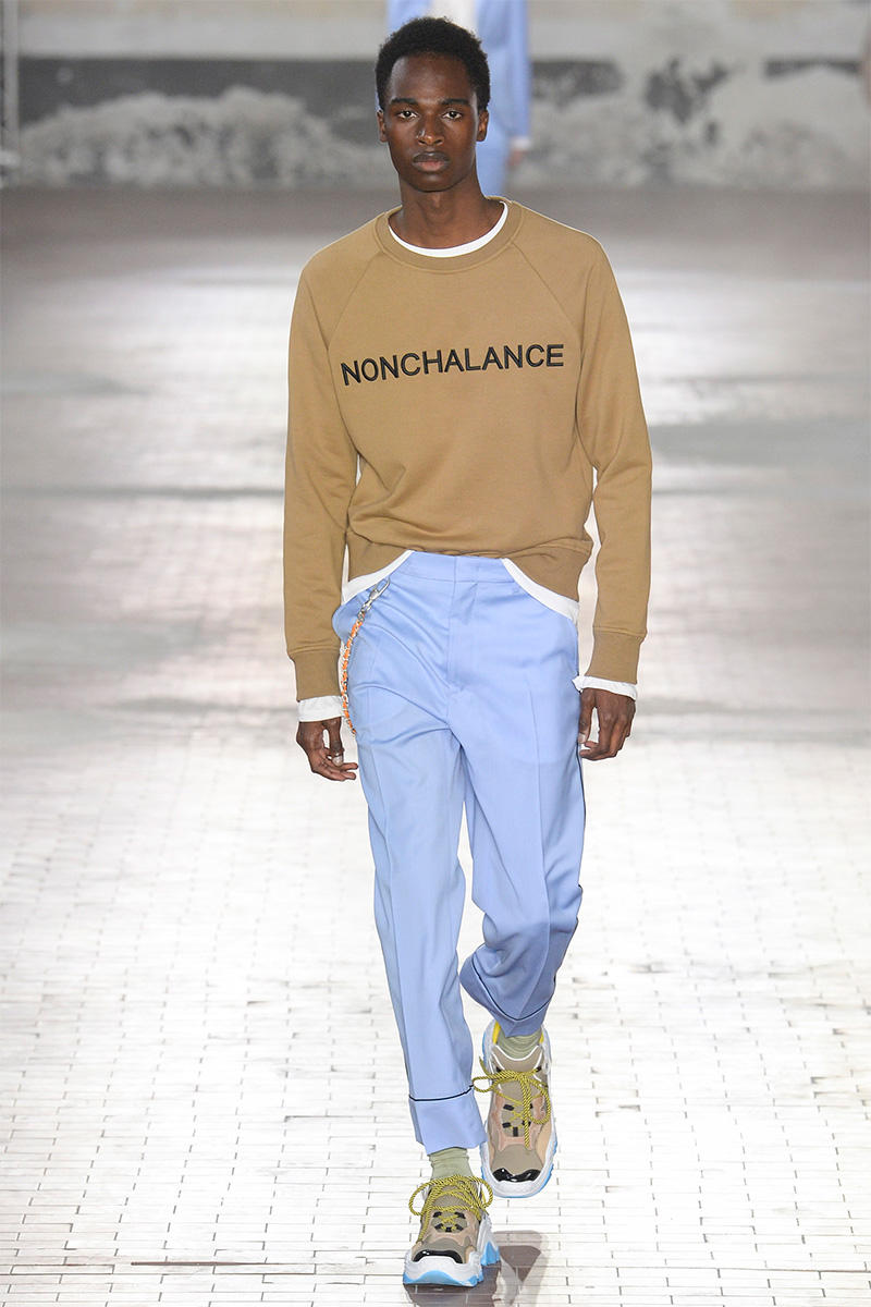 No. 21 Spring/Summer 2018 Collection Runway