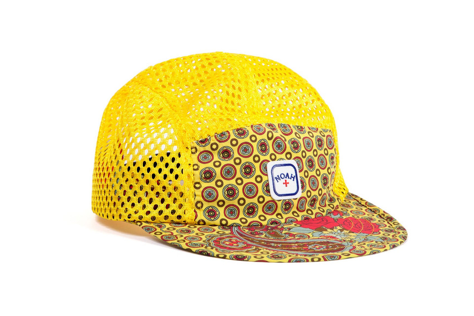 42c7c258717 Noah Reveals a Capsule Collection of Running-Inspired Mesh Caps