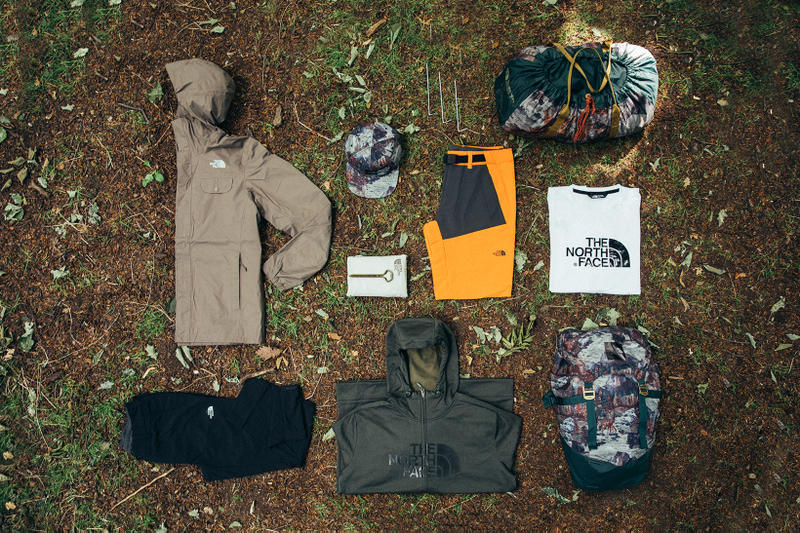 North Face Weekend Basecamp Summer 2017 Collection Essentials still life composed shot