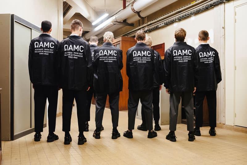 "OAMC Nylon ""Staff"" Jacket 2017 Fall/Winter Crewneck Limited Edition"