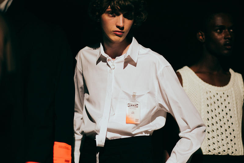 OFF-WHITE Spring/Summer 2018 Backstage at Pitti