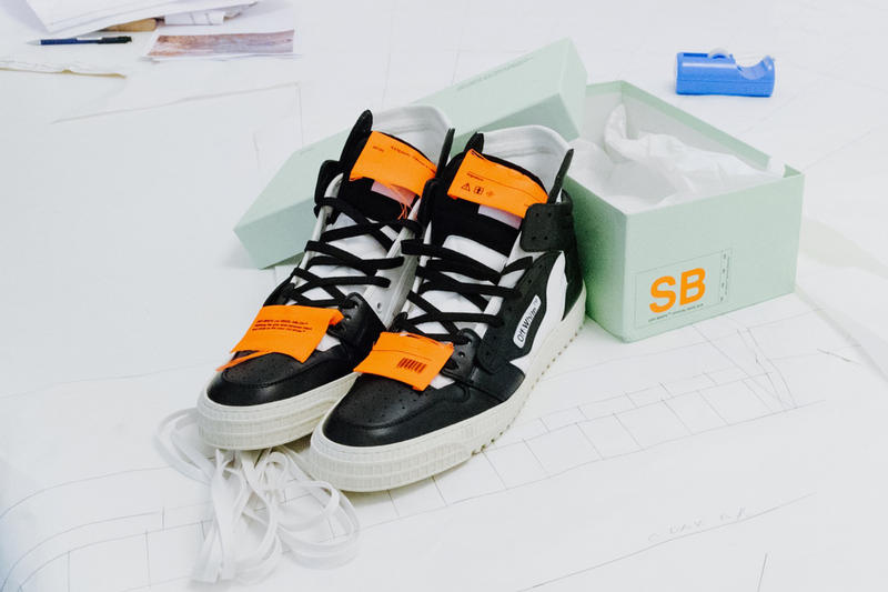 """OFF-WHITE c/o VIRGIL ABLOH™ """"Off-Court"""" Sneakers EM  PTY GALLERY ANOTHER FIRST SHOW Fashion Sneakers Paris France"""