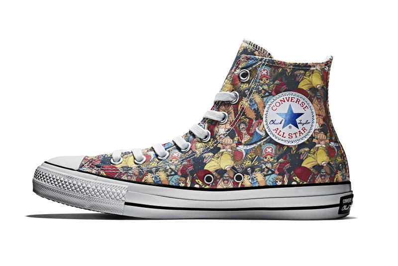 One Piece Converse 100th Anniversary Chuck Taylor All Star Hi