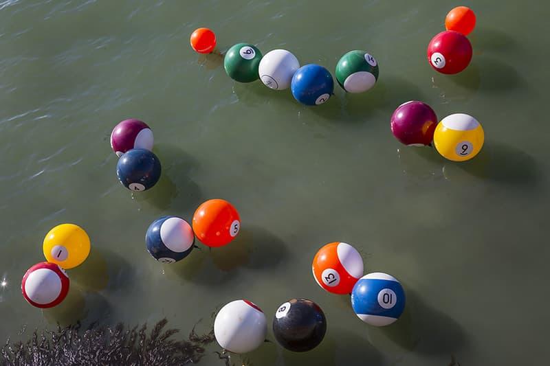 Otto Vincze 'River-Pool Giudecca' Installation Hungary Venice Artwork Ferenczy Museum Center Szentendre