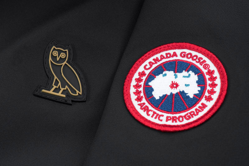 OVO Canada Goose 2017 Spring Collection white black black gold