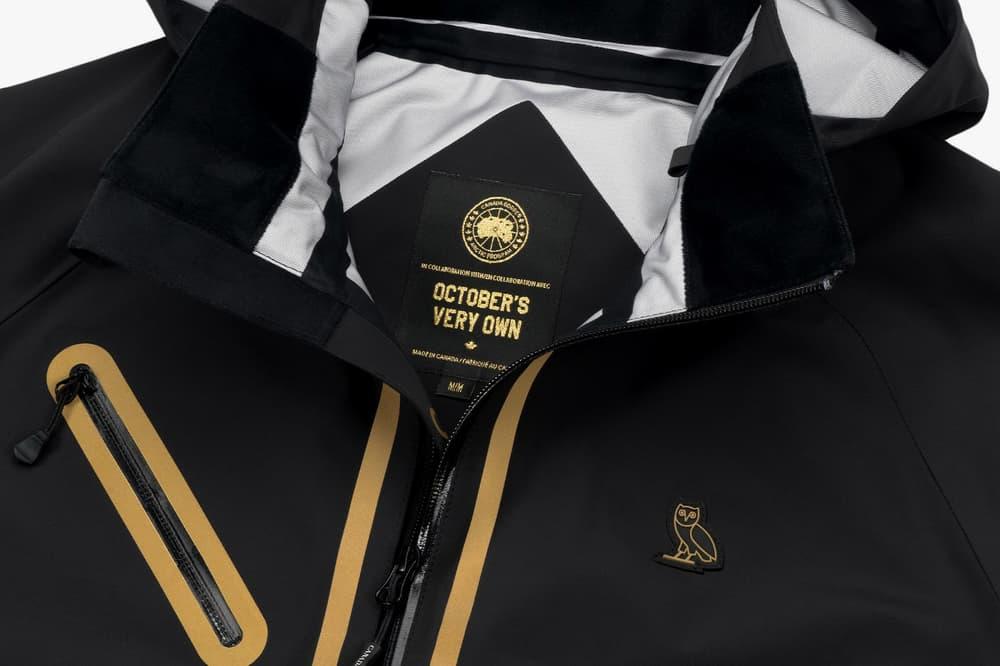 OVO Canada Goose 2017 Spring Collection white black black gold