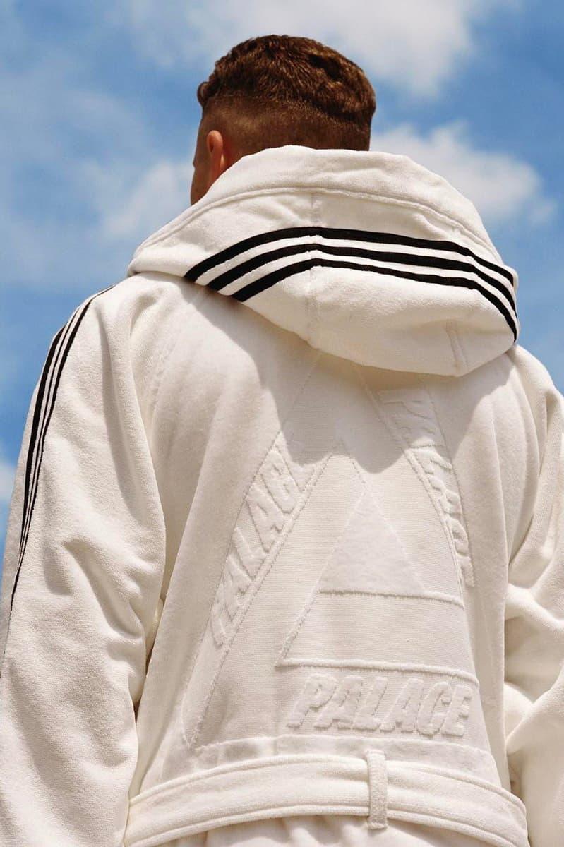 adidas x Palace Collaboration White Robe June 16 2017