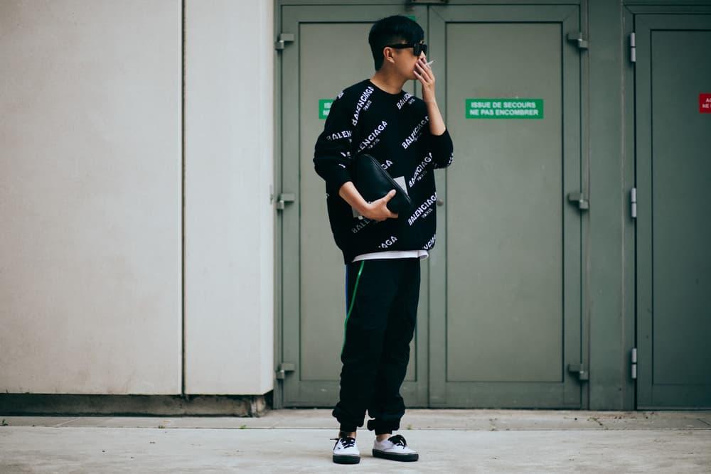 Paris Fashion Week Men's 2018 Street Style