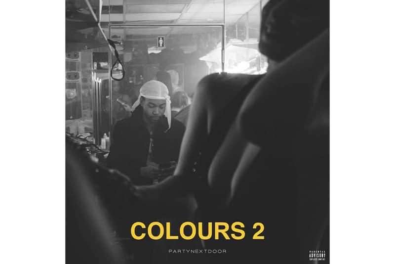 PARTYNEXTDOOR 'COLOURS 2′ EP Stream