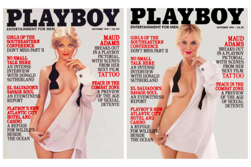 past playboy playmates redo their cover shots | hypebeast