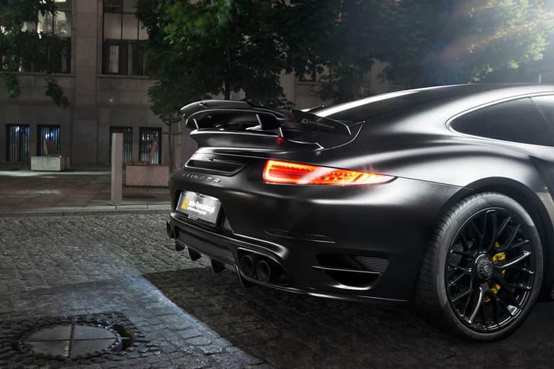 "Auto-Dynamics Porsche ""Dark Knight"" 911 Turbo S"