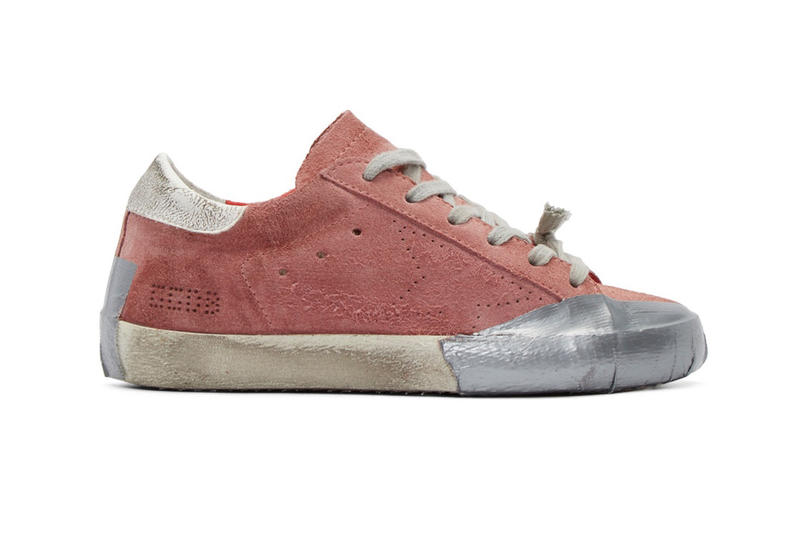 Golden Goose Deluxe Brand Predistressed Skate Shoes