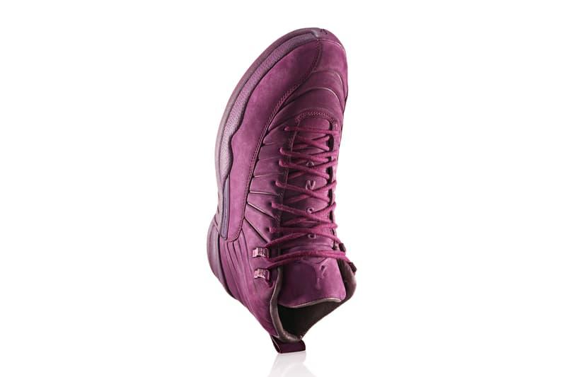 PSNY Nike Air Jordan 12 Olive Wheat Bordeaux AJ12 Jordan Brand Public  School New York 3a6a6d934e88