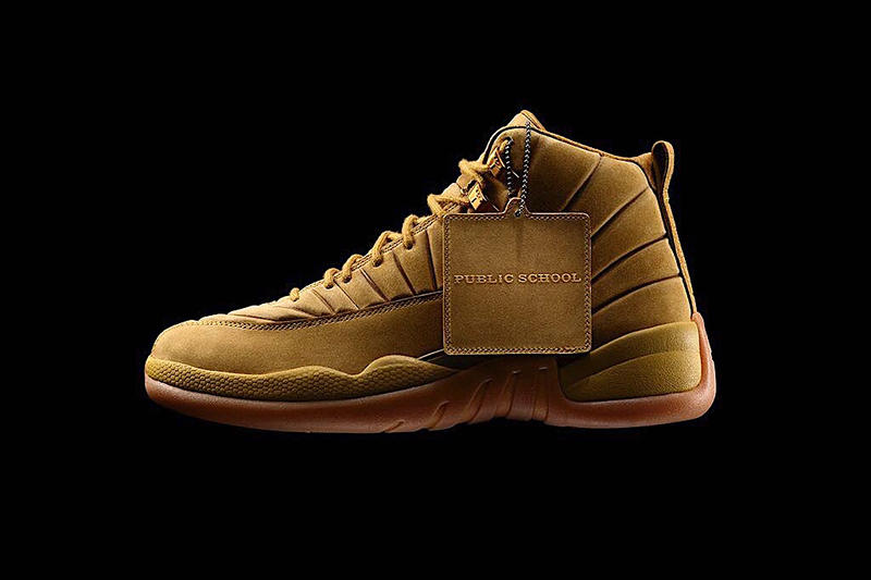 Air Jordan 12 x Public School Pack Closer Look