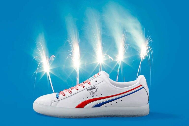 Puma Clyde 4th of July Independence Day Exclusive