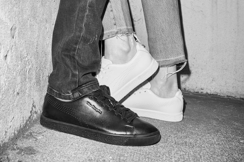 70a3007158acf9 The Kooples x PUMA Clyde in Black and White