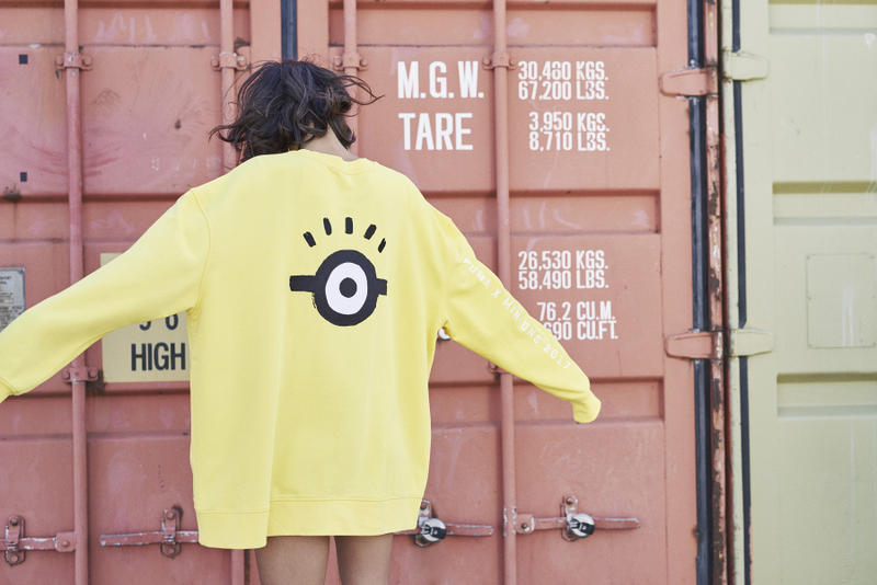 Minions x PUMA 2017 Capsule Collection Lookbook