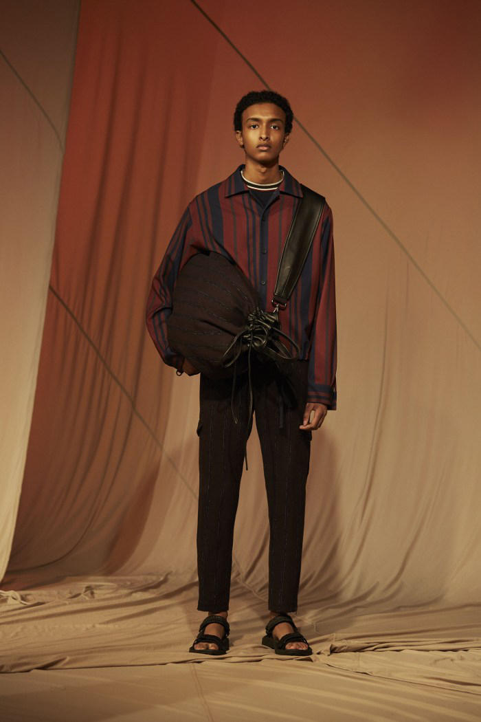 "Qasimi Introduces ""Freefall"" 2018 Spring/Summer Collection london fashion week mens 2018"