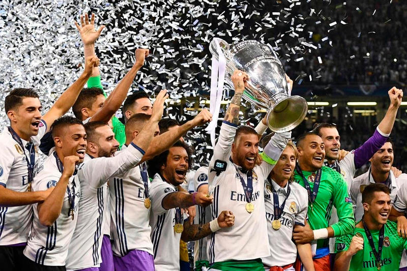 Real Madrid Juventus Win Champions League 2017