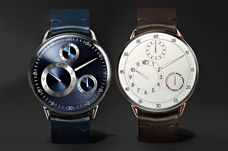 Ressence Mr Porter Exclusive Collaboration Type 1 MRP Titanium Leather Rose Gold