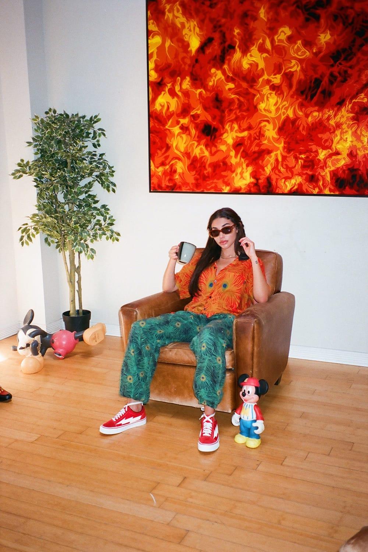 REVENGE X STORM Red Sneaker Release