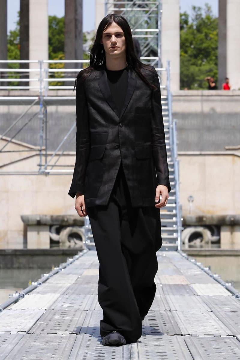 Rick Owens 2018 Spring Summer Collection Paris Fashion Week Men's Runway Show