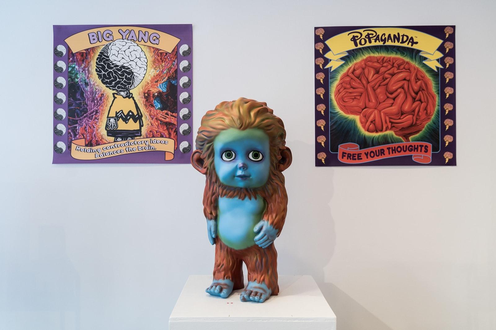 Ron English POPaganda Pop-Up Montreal Interview MURAL Festival 2017 Vinyl Toys Artwork Installations Exhibits Arts Designer Toys Collectibles